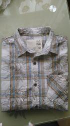 мужская летняя  рубашка  F&F р. M