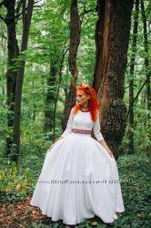 Свадебное платье маленького размера