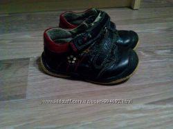 Кроссовки туфли из натуральной кожи
