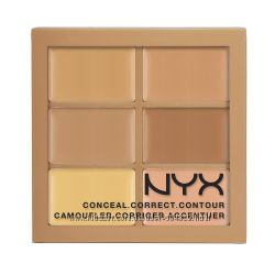 NYX Conceal, сorrect, сontour palette  палитра для коррекции
