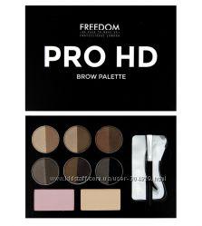 Набор для коррекции бровей Freedom Makeup