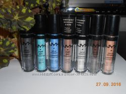 NYX roll on shimmer   тени - шимер