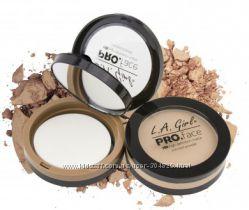 Компактная пудра La Girl Pro Face Matte Pressed Powder