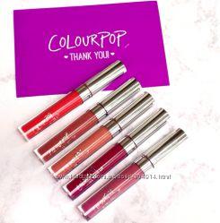 Стойкая матовая помада Colourpop Ultra Matte Lip