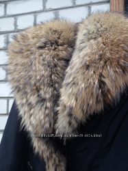 Пальто плащевка натуральный мех