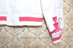 Белая курточка на пуху