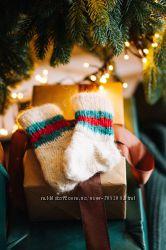 Вязанные носочки ручной работы 11-12см