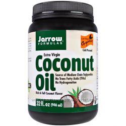 Натуральное кокосовое масло высокой степени очистки Jarrow Formulas