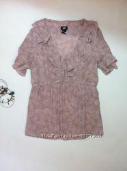Распродажа. нежная блуза для животика H&M р. М