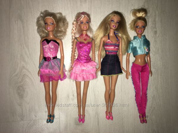 Куклы барби, принцессы Disney, Bratz