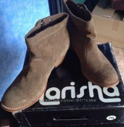 Натуральные замшевые ботиночки Marisha
