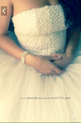 Новое Свадебное жемчужное платье Бонус