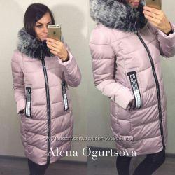 Удлиненные куртки, теплые
