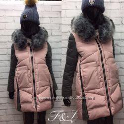 Куртки на зиму, разные цвета