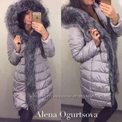 Куртки с красивым мехом