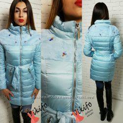 Разные модели курток на зиму