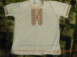 Вышиванка футболка Фламинго 110 - 116 см