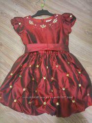 Нарядное платье для девочки, 92