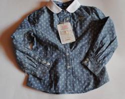 Джинсовая рубашка ORIGINAL MARINES  рост 104