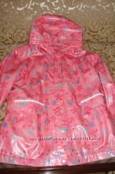 Куртка демисезон на флисе на 134-140