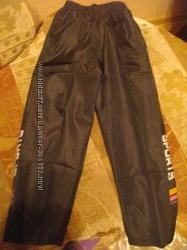 Новые спортивные штаны на подкладе до 160 см. роста