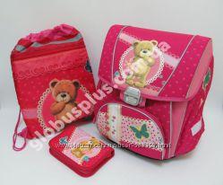 Набор  рюкзак школьный ортопедический, сумка для обуви и пенал, Josef Otten