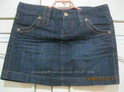 Новая джинсовая короткая юбка