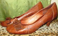 Туфли рыжие фирма Mexx 38 размера