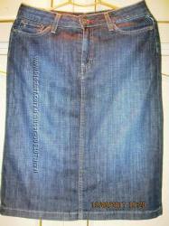 Юбка джинсовая 8 размера