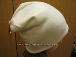 Модная шапка-чулок из флиса