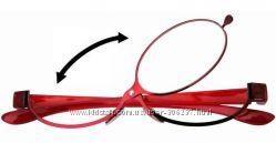 Продам очки для нанесения макияжа в металлической оправе окуляр вращается