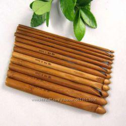 Крючки для вязания  Гачки для плетіння Бамбук