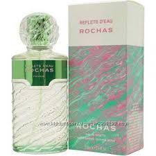 Rochas Reflets dEau de Rochas Стильный Свежий Скошеная Зелень Цитрусы Пионы