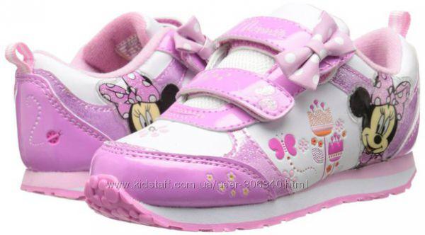 Кроссовки Disney Minnie Mouse с мигалками 28р
