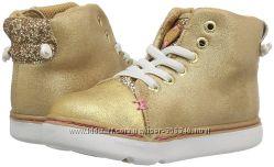 Ботиночки хайтопы золотые из Америки 25, 26, 27, 28р Step and Stride орто