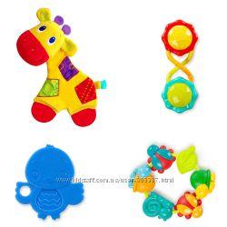 Fisher Pricе, Bright Starts - погремушки, развивающие игрушки для малышей