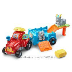 VTech Go Go Трактор с прицепом и животные на ферме