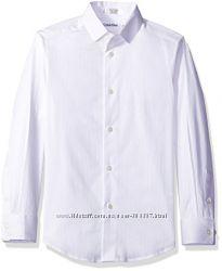 Нарядная белая рубашка Calvin Klein на 5 лет