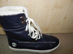 Зимние ботинки Timberland кожа 39, 40 р.