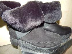 Зимние ботинки OLLI нат. замша, кожа 36-40р. Распродажа