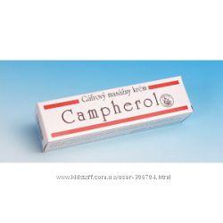 Campherol - массажный крем с содержанием экстрактов трав Чехия.
