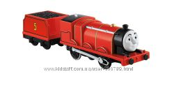 Fisher-Price Thomas Train Томас и Друзья моторизированный паровозик Джеймс
