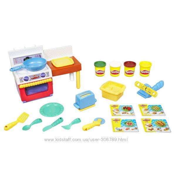 Play-Doh Кухня игровой набор для лепки Meal Makin Kitchen