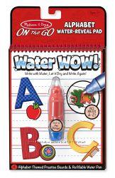 Волшебная водная раскраска изучаем Алфавит MD5389 Melissa&Doug
