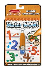 Волшебная водная раскраска изучаем Цифры MD5399 Melissa&Doug