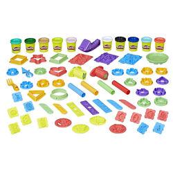 Play Doh Play Date Party большой набор пластилина для вечеринки с формочкам