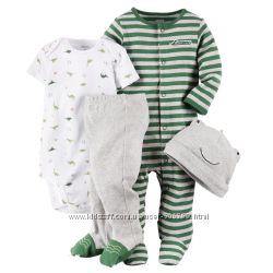 Подарочные комплекты Carters для новорожденных Carters США на рост 55-72см