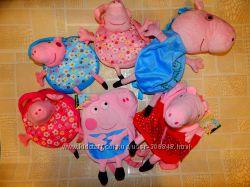 В наличии рюкзаки сумки и кошельки с любимой Свинкой