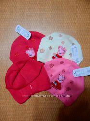 Трикотажные шапочки Пеппа