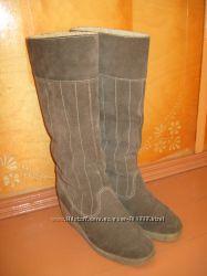 Сапоги зимние Ara натуральный замш и овчина
